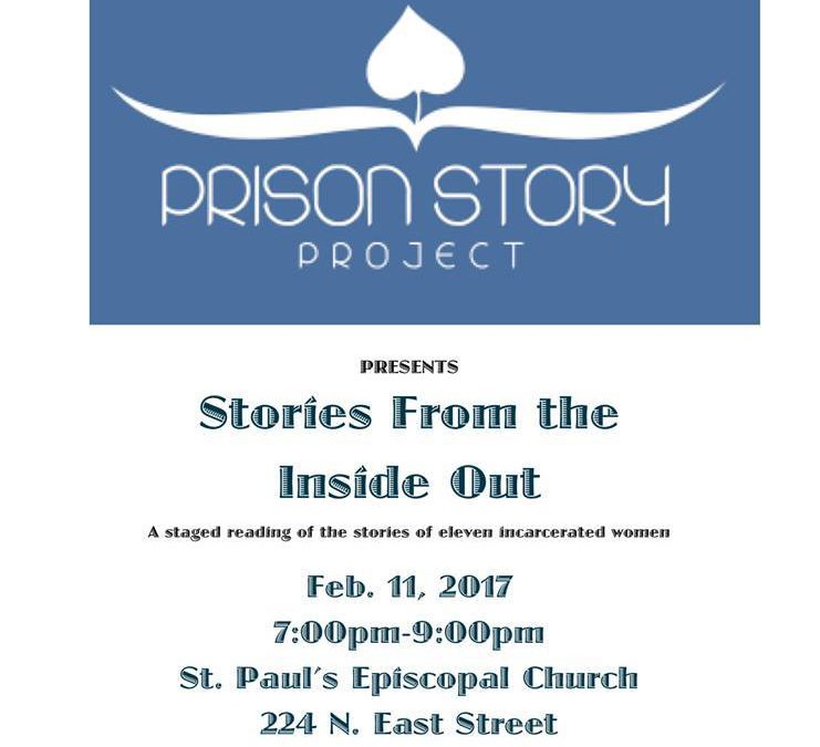 Stories From The Inside Out February 11 at St. Paul's Episcopal Church