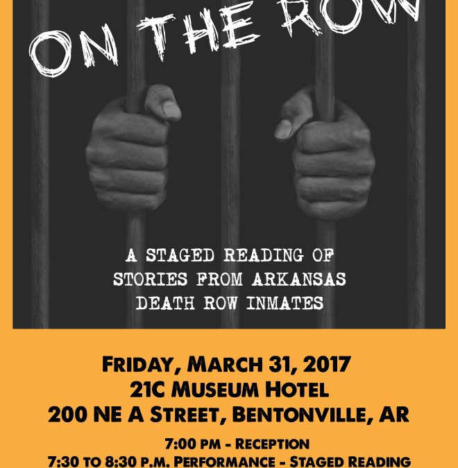 On The Row Friday March 31 At 21C Museum Hotel In Bentonville